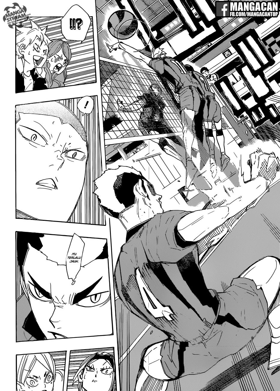 Haikyuu!!: Chapter 294 - Page 11