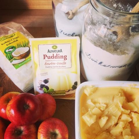 Vegane Rezepte: Kartoffel-Pilz-Suppe und Apfel-Kokos-Kuchen