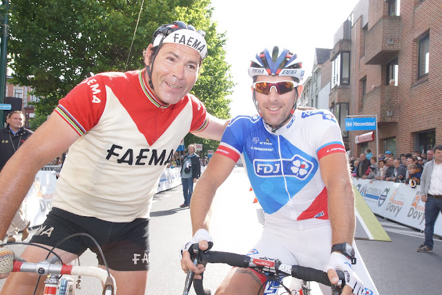 Eddy Merckx look-a-like bij David Boucher