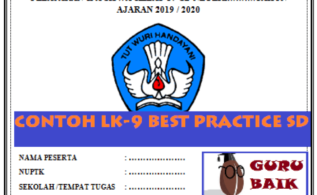 Lk 9 Best Practice Pkp Smp Mapel 2019 Guru Baik Cute766
