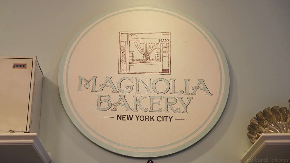 Magnolia Bakery Sign
