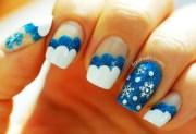 wonderful winter nail art ideas