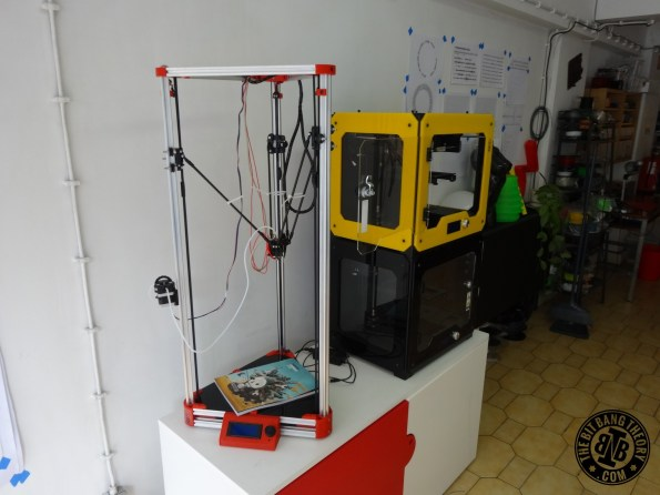 MILL Delta and Witbox 3D Printers