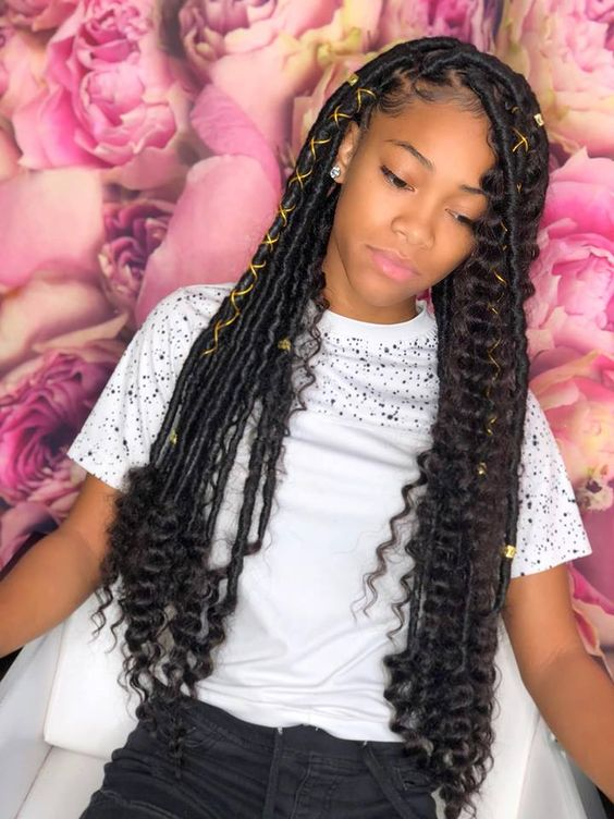 BEAUTIFUL HAIR ACCESSORIES LOOK FOR SOUTH AFRICAN WOMEN 3