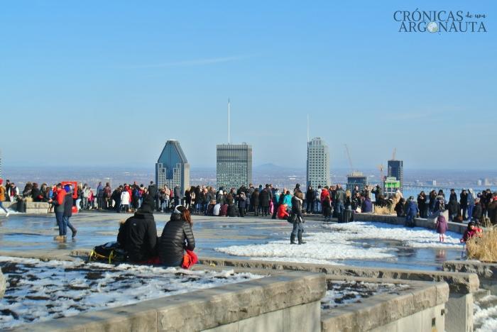 Vistas de Montreal desde Montroyal