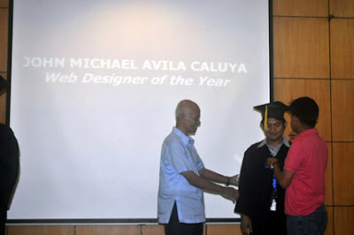John Michael Caluya, Web Designer of the Year