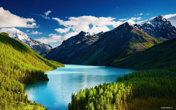 mountain landscape - chrome web