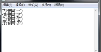Alan 資訊不歸路 學習筆記: 中文難字顯示問題
