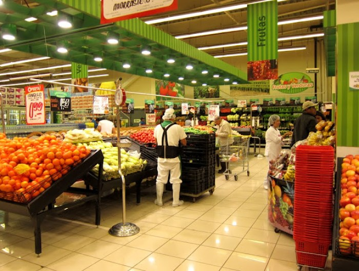 Supermarket in Trujillo