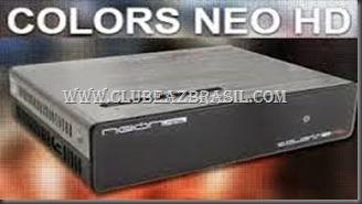 ATUALIZAÇÃO NEONSAT COLORS NEO HD C45