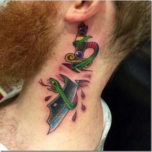 Los 50 Más Bellos Y Atractivos De Cuello Tatuajes Tatuajes247