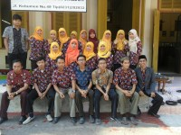 Nama Mahasiswa PPL SMPN 16 Kota Cirebon 2015