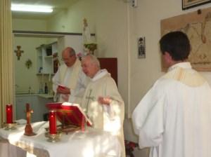 Messe au Mont Nebo