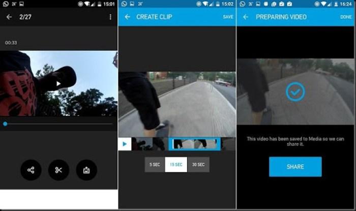 trik menkoneksikan gopro dengan android