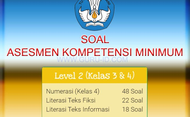 Contoh Soal Akm Kelas 4 Sd Mi Tahun 2020 2021 Info Pendidikan Terbaru Cute766