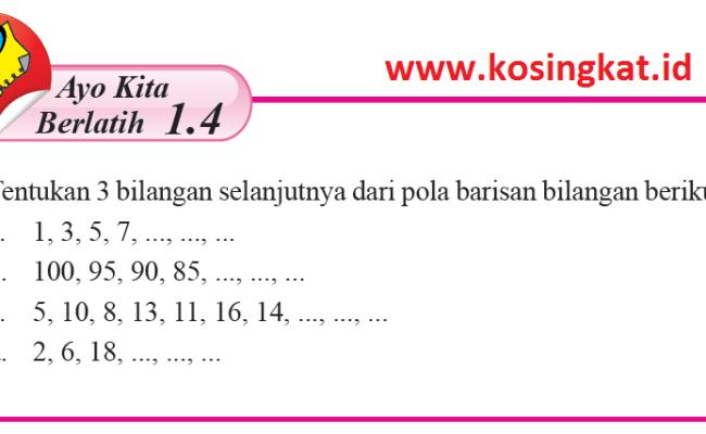 Kunci Jawaban Ayo Kita Berlatih 22 Matematika Kelas 8 Cute766