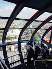 View from the observation deck of Kyoto Tower