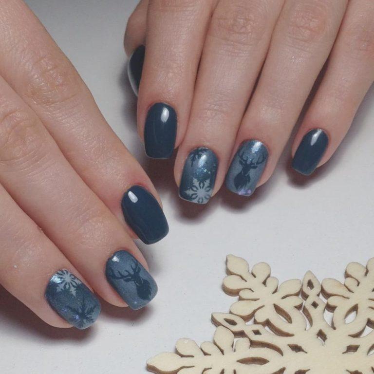 holiday nails Christmas nails