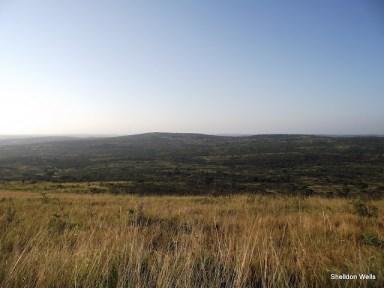 Hluhluwe Imfolozi Game Reserve Landscape