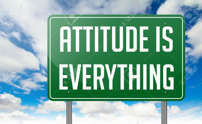 Friendship Toastmasters Club 5 April 2016 Attitude Is Everything