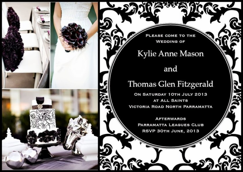 Wedding Invitation Baroque Love By Dreamday Invitations