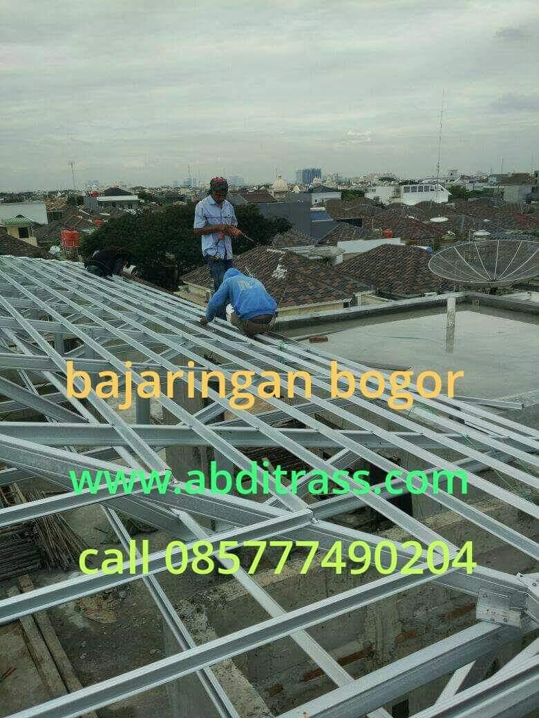 baja ringan murah depok informasi harga pasang rangka atap di bogor terbaru