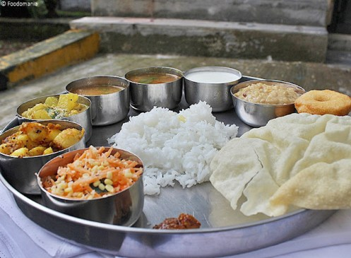 South Indian Thali | A full meal | Indian Thaali ideas & Recipes