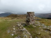 Hooker Crag - Muncaster Fell summit Trig Point