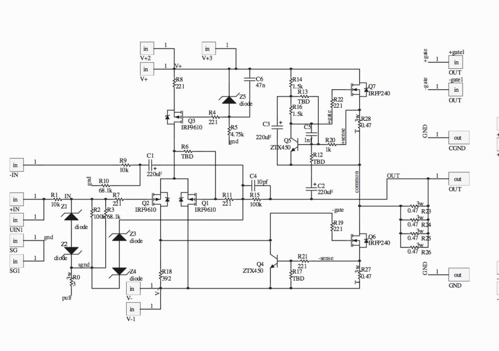 medium resolution of mini aleph some output problem diyaudio circuit diagram breadboard aleph j circuit diagram