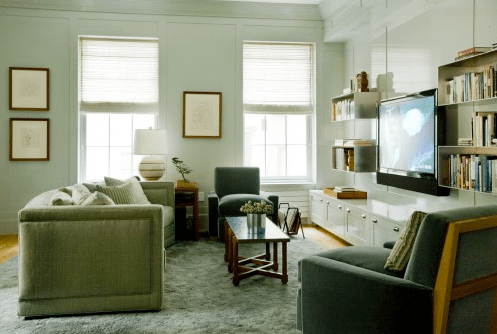 Large Wall Decorating With Mirrors Above Fireplace For Living Room Using Bay Windows And Crystal Ceiling Ideas