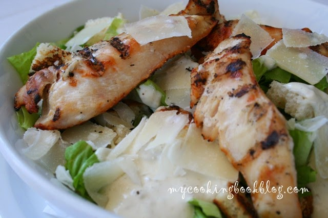Салата Цезар с пилешко (Chicken Ceasar Salad)