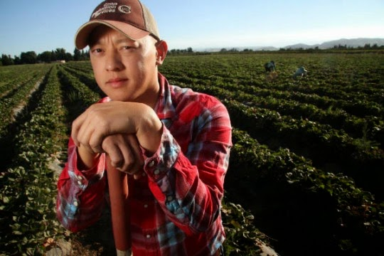 Kouei Siong, who has returned to his family's California farm with dreams of upgrading the business, sees himself as not just Hmong, but Hmong-American.