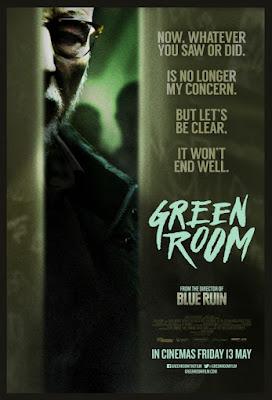 Em Green Room, Jovens banda de punk rock encontram-se presos em um local isolado, após testemunharem um ato terrível de violência
