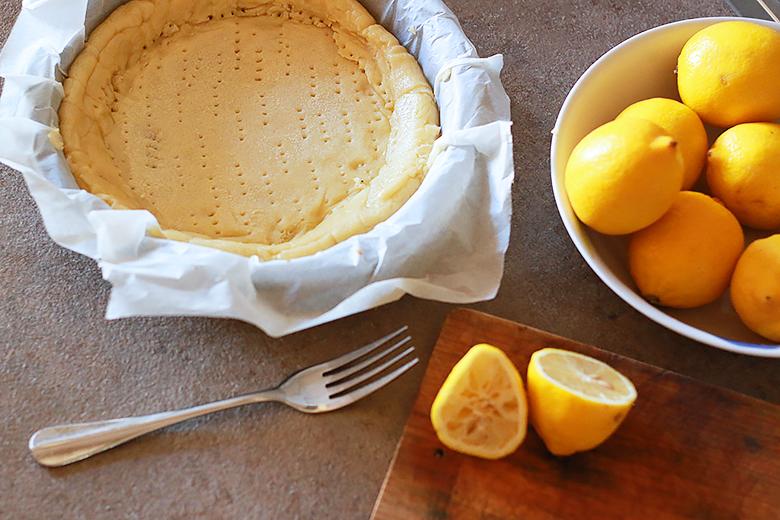 tarte au citron, recette dessert facile, crème pâtissière au citron, comment faire une pâte sablée, cuisine