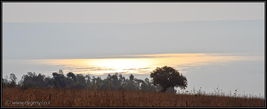 Восход на Киннерете