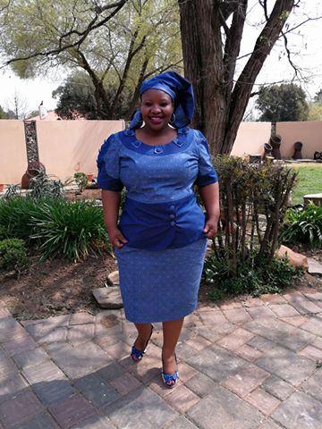 Glamorous Shweshwe Dresses 2020 ⋆ Fashiong4