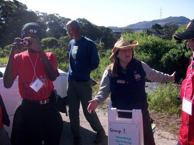 IVLP 2010 - Volunteer Work at Presidio Trust - 100_1403.JPG
