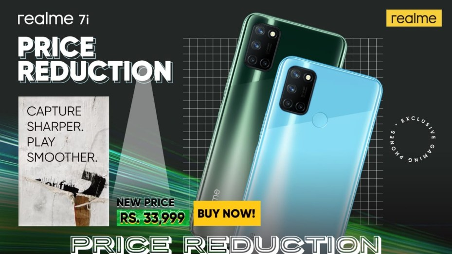 realme 7i with 64 MP AI Quad Camera is now available for PKR 33,999