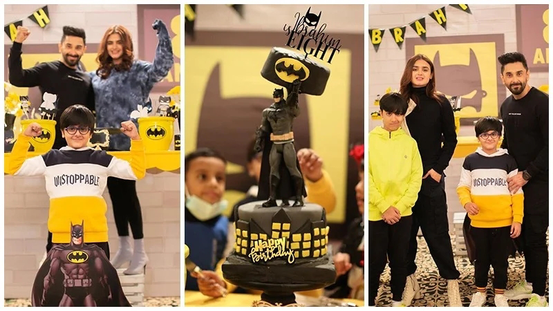 Hira Mani Shares Awesome Pictures from her son Birthday