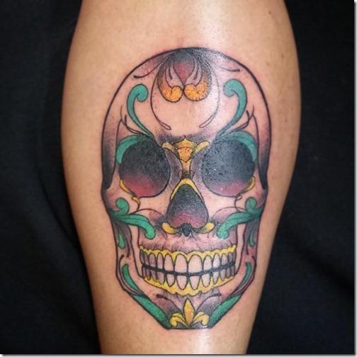 Tatuajes De Calavera Mexicana Tatuajes247