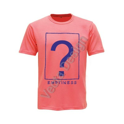 Vecta Design Printed T-Shirt Emptiness