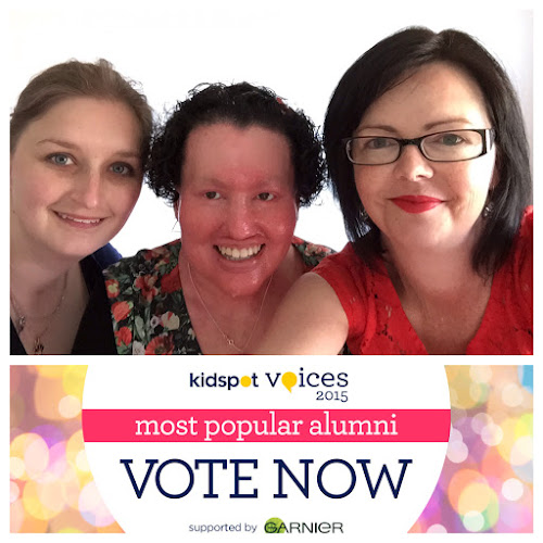 Rebecca, Carly and Camille - Kidspot voices of 2015 charity vote