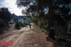 Hasta el aula de naturaleza, la pista es muy buena. ©aunpasodelacima