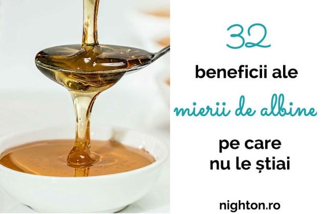 32 beneficii ale mierii de albine pe care nu le știai