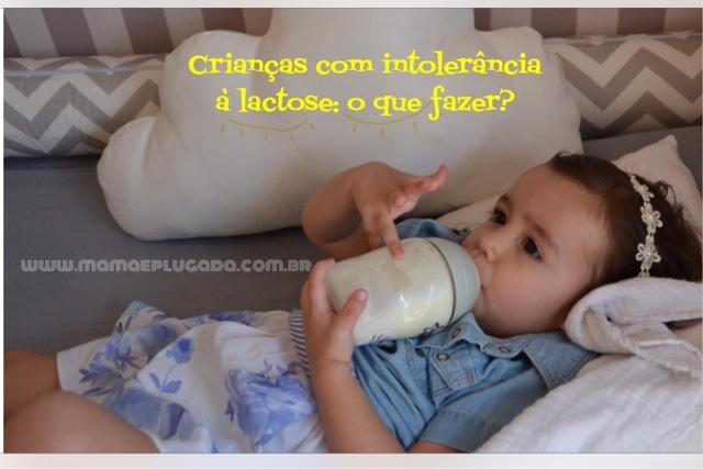 Crianças com intolerância à lactose