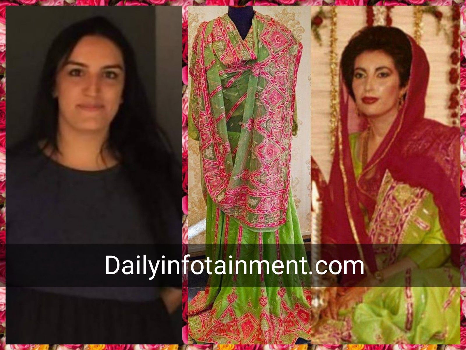 Bakhtawar Bhutto Zardari to recreate her mother's Nikkah look on the day of Engagement