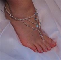 Elegant Barefoot Sandals Bride