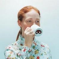 海外デザイナーがデザインした豚の鼻のマグカップ