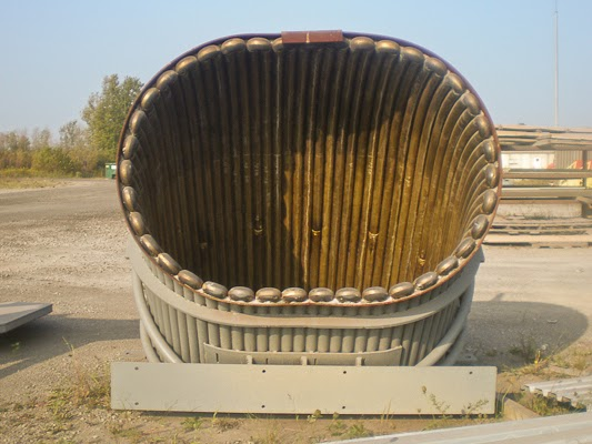 Pressurized tubular equipment can be more difficult to repair and maintain and always has a potential for high pressure, high volume water leaks.