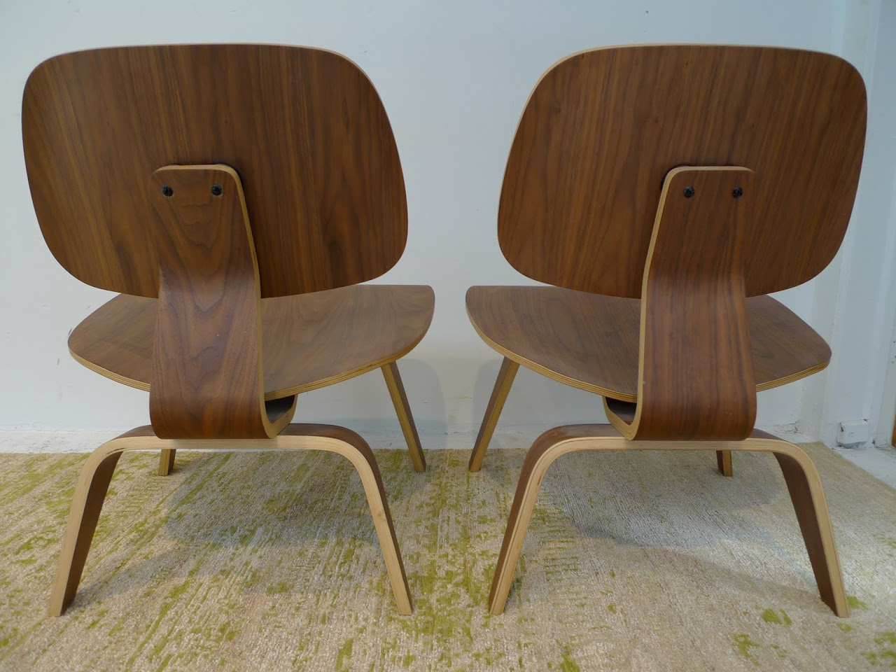 Bent Plywood Chair Eames Style Bent Plywood Chair Pair Shophousingworks